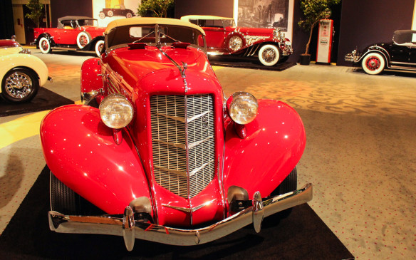 <p>Only about 500 of these Speedsters were built by Auburn from 1935 to 1937 when the company went out of business. This pristine example now hails from Newfoundland.</p>