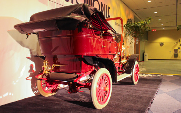 "<p>In 1908, the McLaughlin Carriage Company entered the car business when R.S. ""Colonel Sam"" McLaughlin concluded a deal with General Motors founder William ""Billy"" Durant to provide Sam with Buick chassis and engines. General Motors of Canada now owns this Model F and had it comprehensively restored in 1999.</p>"