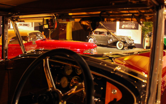 <p>Wherever one looked within the gallery there were Grand Classic cars. It was an oasis of calm and elegance within the carnival atmosphere of the auto show.</p>