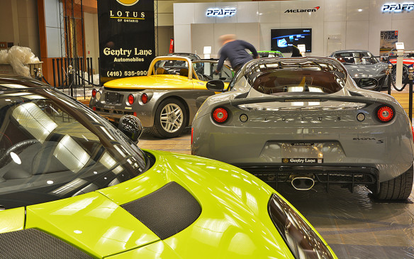 <p>Exotic cars and the glory days of Indy racing on display in Toronto</p>
