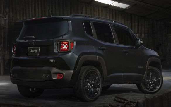 <p>2016 Jeep Renegade Dawn of Justice Special Edition</p>