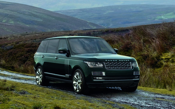 Limited Edition Holland & Holland Range Rover