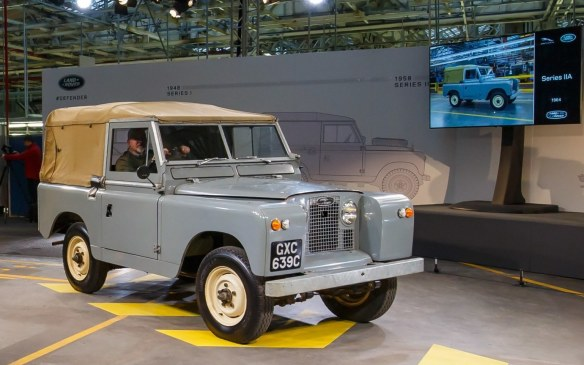 <p>It took just three years before the Series II was refreshed, but the changes were minimal so the designation became Series IIA. The main difference was under the hood, where the 4-cylinder engines (gasoline and diesel) grew to 2.25 litre displacement and a 6-cylinder engine was offered for the first time.</p>
