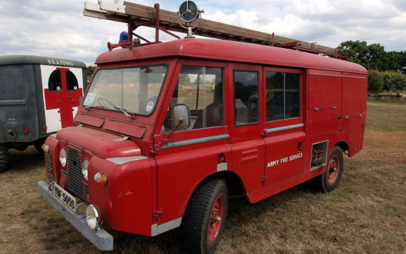 <p>With the creation of the Series IIA, Land Rover made a Forward Control platform for heavy duty vehicles, with the engine under the cabin in order to create more space for people and cargo. Only about 2,500 were made before a larger Series IIB Forward Control dropped in a more powerful engine to further the heavy-duty emphasis.</p>