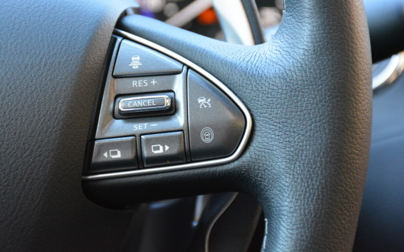 <p>Direct Adaptive Steering (DAS) is Infiniti's version of an all-electronic steer-by-wire system. First introduced for the 2014 model year, the system was intended to filter out irritating steering vibrations and provide quicker responses than a mechanical version, but it was criticized for lack of road feel. For 2016, a second-generation system now offers customizable levels of steering feel and feedback. The new DAS also features re-tuned gear ratio, steering effort, and reaction time to driver inputs.</p>