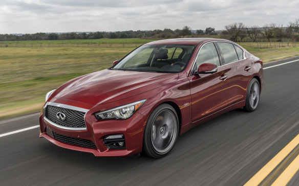 <p>Formerly known as the G37, the Q50 benefits from a major refresh for 2016</p>