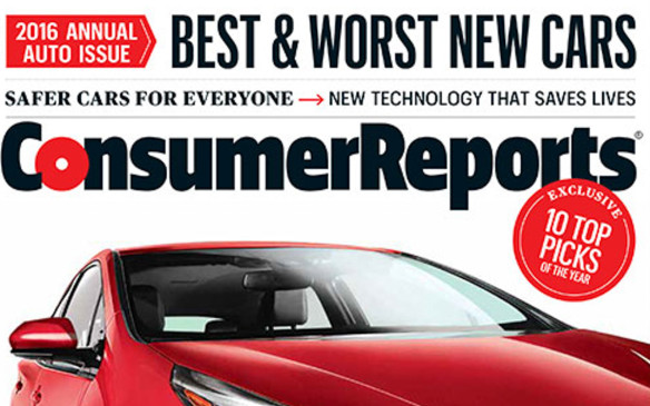 <p>While Consumer Reports does rate vehicle reliability, the organization's annual brand report card also takes other factors into account. An aggregate overall score is based on a combination of road-test performance, reliability, safety performance, active safety aids and owner satisfaction. Those scores for each model of a given brand tested are averaged to determine an overall brand score. That average overall score is used to rank the car brands as an indicator of who makes the best cars. The rankings do not account for corporate practices or brand perceptions. Brands must have at least two models with test and reliability data to be included: Alfa Romeo, Jaguar, Maserati, Ram, Smart, and Tesla lacked sufficient data t be ranked.</p>