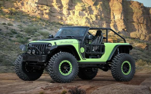 <p>Jeep Trailcat concept</p>