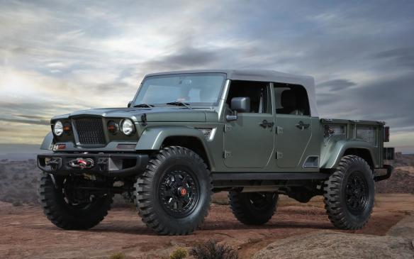 <p>Jeep Crew Chief 715 Concept</p>
