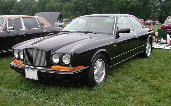<p>Continental production stretched through 1965, and was resurrected in 1984, with the awesome Continental R debuting in 1991 as the first Bentley to not share a body with R-R, and a turbocharged 6.75-litre V-8 estimated to make 325 hp. The car was produced through 2003, when Bentley was acquired by VW.</p>