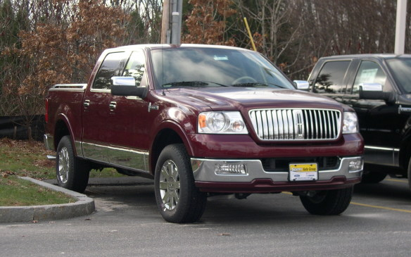<p>If Cadillac had a pickup truck, Lincoln had to have one too. So, in spite of the dismal failure of the Blackwood in 2002, Lincoln introduced the Mark LT as a 2006 model – essentially a cross between the Ford F-Series pickup and the Navigator SUV. Another failed experiment, the Mark LT was axed after the 2008 model year.</p>
