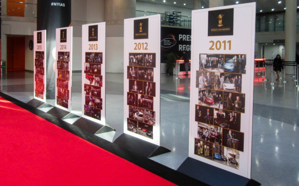<p>2016 marks the 10th anniversary of the partnership between World Car and the New York show, and the third consecutive year that the World Car Awards have retained their ranking as the number one automotive awards program in the world in terms of media reach.</p>