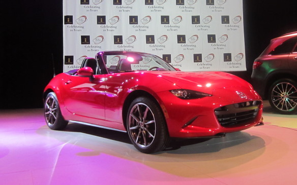 <p>When the envelope containing the final results from the accounting firm KPMG was opened, the Mazda MX-5 was revealed as the 2016 World Car of the Year.</p>
