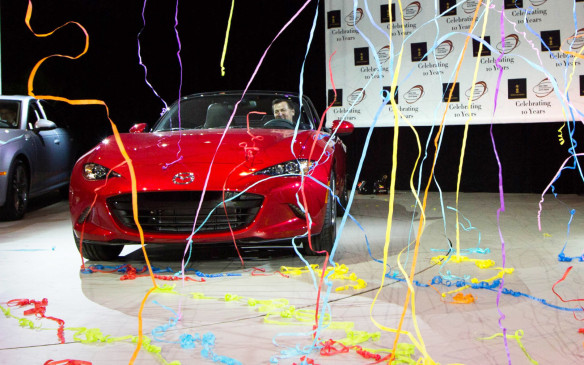 <p>The 2016 World Car Award winners were revealed at the New York International Auto Show.</p>