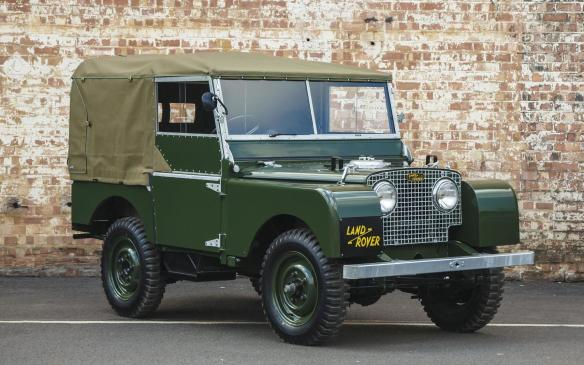 <p>Land Rover Series I</p>