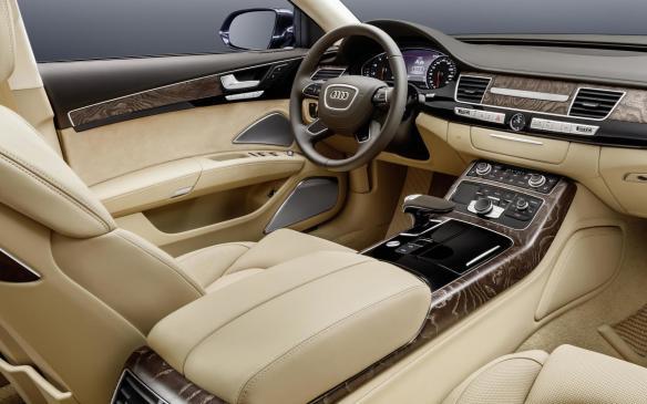 <p>Audi A8 extended cockpit</p>