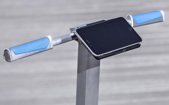 <p>Audi connected mobility concept longboard smartphone clip</p>