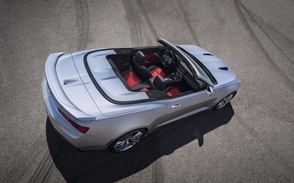 <p>The Camaro was the bow-tie brigade's alternative to the Mustang and its most coveted version was the high-performance Z28 model, homologated specifically to make it eligible for Trans-Am racing. A track-oriented model with that designation is available once again, but we don't need to go to that length to dramatically outperform the original in every way. A 455-hp, 6.2-litre small-block V-8-powered SS model would do the job quite nicely. And while we're at it, let's get one with an automatic fold-away drop top so we can enjoy some rays.</p>