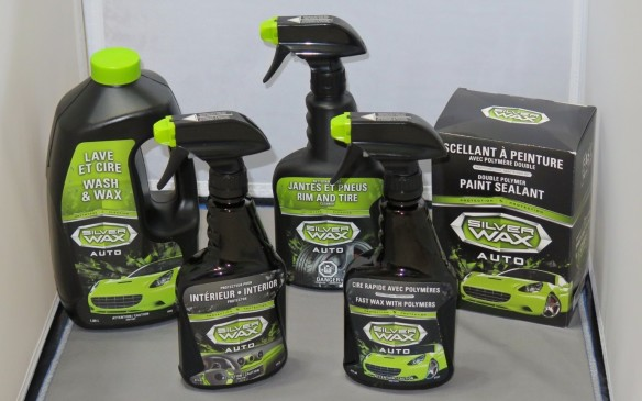 Silverwax car care products