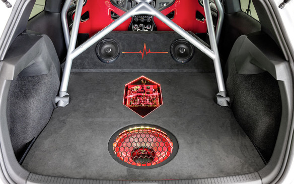 <p>Volkswagen GTI Heartbeat sound system</p>