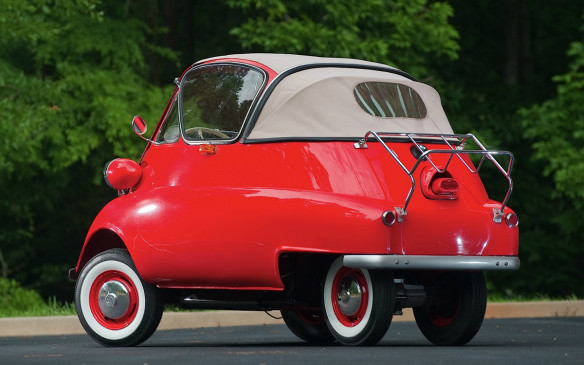 <p>The trend started in the 1950s with the tiny 1-door bubble car Isetta, created by Iso of Italy and made in several countries under licence. Most people know Germany's BMW Isetta, which reengineered much of the car but kept the design. As with many historic European cars, the roof was often cut to create a sunroof, covered by a folding fabric flap. It wasn't long before somebody figured out you could remove the wraparound Isetta rear window and replace it with a fold-down fabric hood.</p>