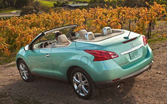 <p>There's a chance the Evoque convertible may have never come to market had it not been for the regional success of the Murano CrossCabriolet — the world's first crossover convertible. It's an interesting vehicle, though not handsome by some people's measure of beauty, but it had the right mix of edge and quality that often garners a cult following.</p>