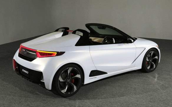 <p>Del Sol was probably the polar opposite of the S660, a 2015 sub-compact roadster which may end up coming to North America, though the underpowered roadster (67 hp) would likely have to get a more powerful engine for US consumption. The spiritual successor to the S500, Honda's first mass-produced car, the rear mid-engined rear-drive roadster exhibits great looks and good balance at 45:55, front to rear.</p>