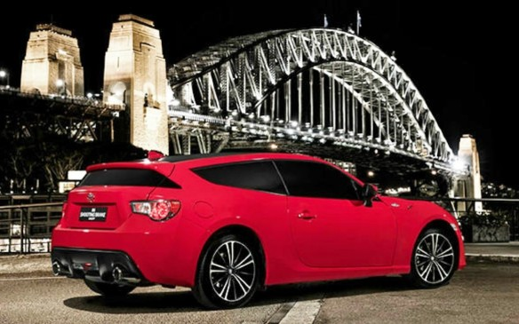 <p>Australian-designed Toyota 86 Shooting Brake Concept</p>