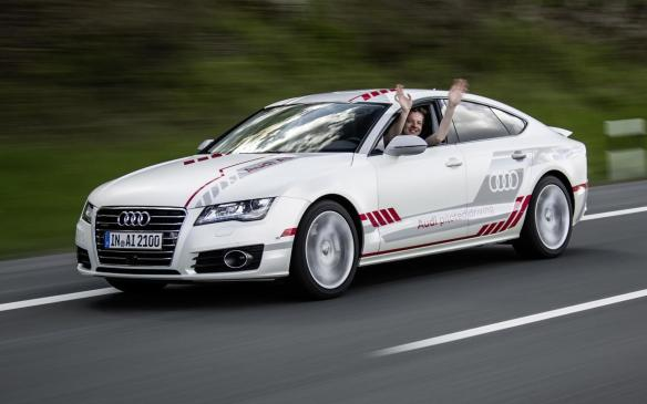 <p>Audi A7 Sportback Piloted Driving concept</p>