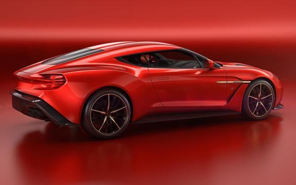 <p>Aston Martin Vanquish Zagato Concept</p>