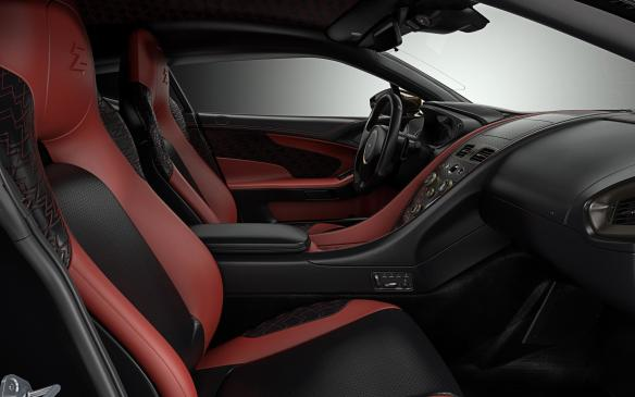 <p>Aston Martin Vanquish Zagato Concept cabin</p>