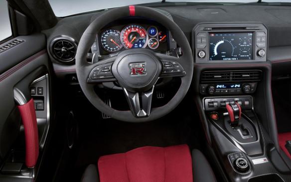<p>2017 Nissan Nismo GT-R interior</p>