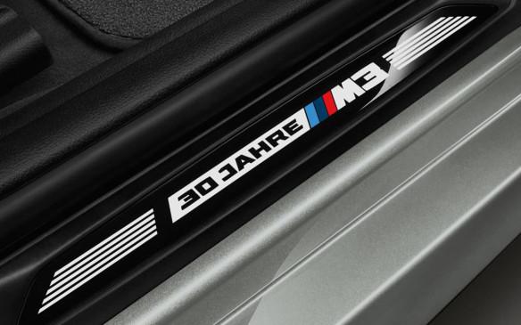<p>BMW M3 30 Jahre Edition door sill</p>
