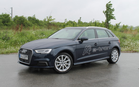 <p>The fifth car we get is the e-tron plug-in hybrid. It has the same 1.4L engine as before, coupled to an electric motor.</p>