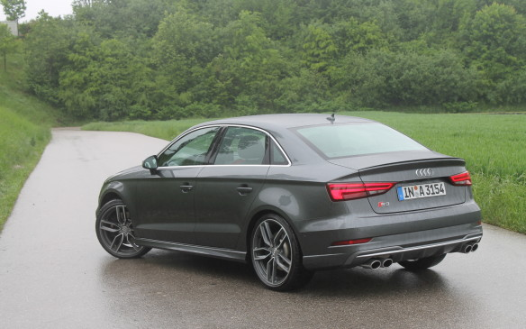 <p>The 2017 S3 keeps its 292 horsepower engine, though European models get a boost in power to 310 horsepower. We'll only get the sedan that's pictured here. In Europe, there's also a hatchback, a sportback (which is a four-door hatch), and a cabriolet.</p>