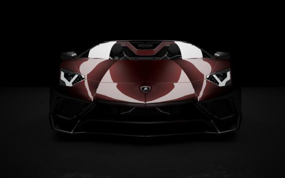 <p>Lamborghini Aventador in tinted carbon fibre</p>