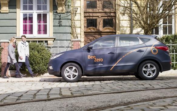 <p>BeeZero Hyundai ix35 Fuel Cell</p>