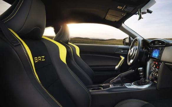 <p>2017 Subaru BRZ Series.Yellow interior</p>
