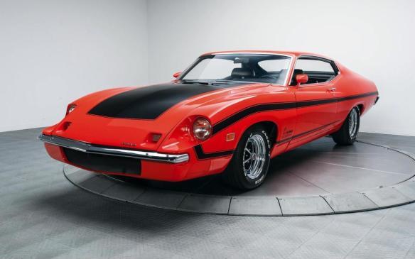 <p>Ford Gran Torino King Cobra prototype</p>