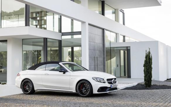 <p>The C-Class Cabriolet crosses the Atlantic this fall, just in time to put all those topless innovations to work. Pricing won't be finalized until nearer that time.</p>
