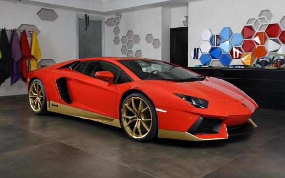 <p>Lamborghini Aventador Miura homage</p>