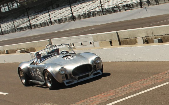 <p>Shelby Cobras from the same era, like this aluminum-bodied 427, are also popular vintage racers– in spite of their significant investment value.</p>