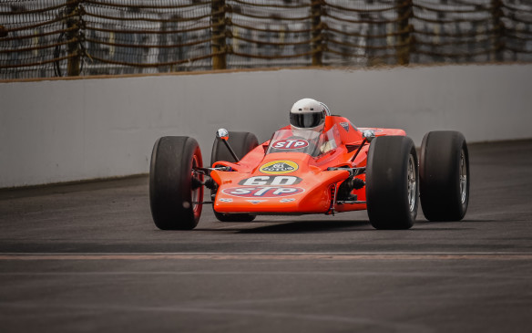 <p>Among the most infamous Indy cars on the track was this revolutionary 1968 Lotus Turbine car – one of three entered in the Indy 500 that year, another of which came within nine laps of winning. In addition to a gas turbine engine, which was subsequently renderednon-competitive by restrictive new regulations, this Lotus debuted the wedge design, which quickly became the Indy car norm.</p>