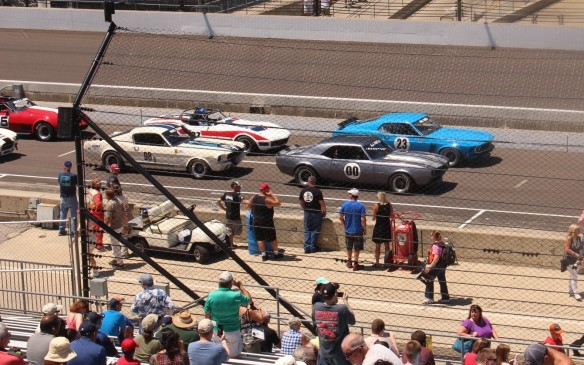 <p>The third annual Sportscar Vintage Racing Association (SVRA) Brickyard Vintage Racing Invitational, held on Father's Day weekend, attracted more than 350 entries in 15 classes, with more than 60 separate track sessions over four days.</p>