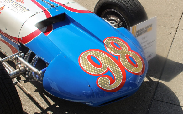 <p>Of course, the classic Indy cars of the 50s and 60s, like this Watson roadster with which Parnelli Jones won the 1963 Indy 500, beating out Jimmy Clark in the first rear-engined Lotus-Ford, were crowd favourites.</p>