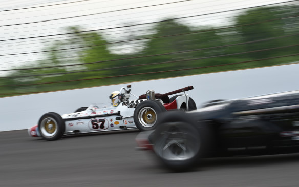 <p>Back on the track, the action was fierce in every class with wheel-to-wheel racing the norm.</p>