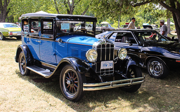 <p>Towards the other end of the age spectrum was this impeccable and very rare 1929 Durant, one of the last automotive hurrahs of Billy Durant, the founder of General Motors. Adding to its distinctiveness, this car was built in Canada, in Leaside, Ontario – now part of Toronto.</p>
