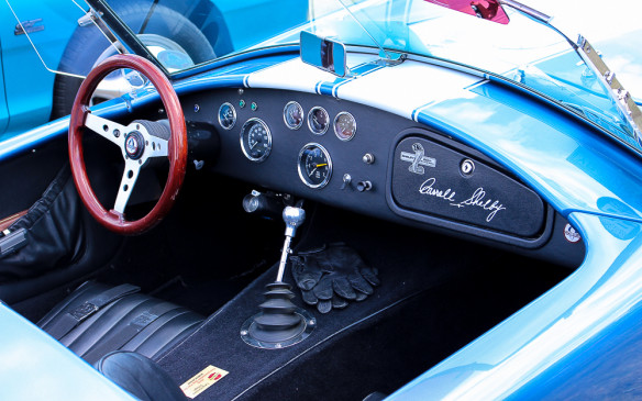 <p>It's compete with the obligatory Carroll Shelby signature glovebox door.</p>