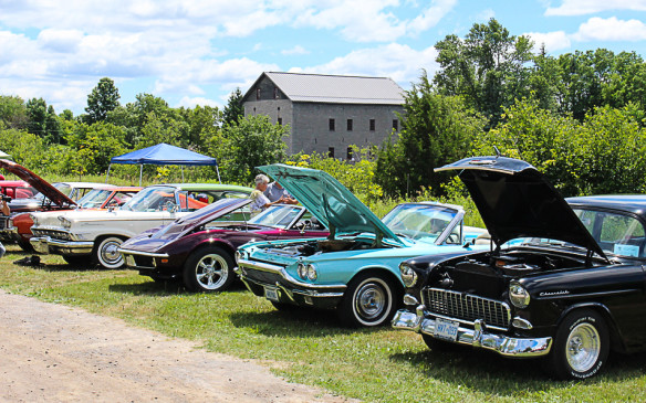 <p>The picturesque site made an ideal setting for the diversity of cars on display.</p>