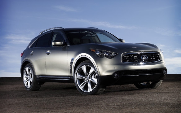 "<p>Leave it to Nissan's Infiniti division to put the boots to the old rant about Japanese automotive design being derivative and uninspired. By their own curious admission, Infiniti's designers were going for the ""bionic cheetah"" look. The second-generation FX closely copied the previous one until you looked closely: the gaping-maw grille was bigger and the headlights were sculpted to look meaner. Buyers of this unique performance ute could choose between the carryover 3.5-L DOHC V-6 engine in the FX35, good for 303 hp, while the FX50 earned a new 5.0-L DOHC V-8 making 390 hp. Both engines were tied to a new seven-speed automatic transmission. The base V-6 grew to 3.7 litres for 2013, making 325 hp, meriting a model name change to FX37. Drivers cite the responsive engines, talented chassis and technological aids as reasons to own one.</p>"